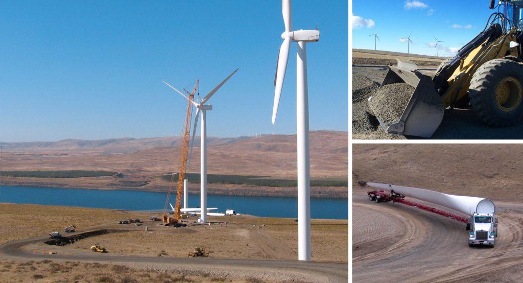 Rattlesnake Road Wind Power Crestline Towers Great Rock Windpower 1